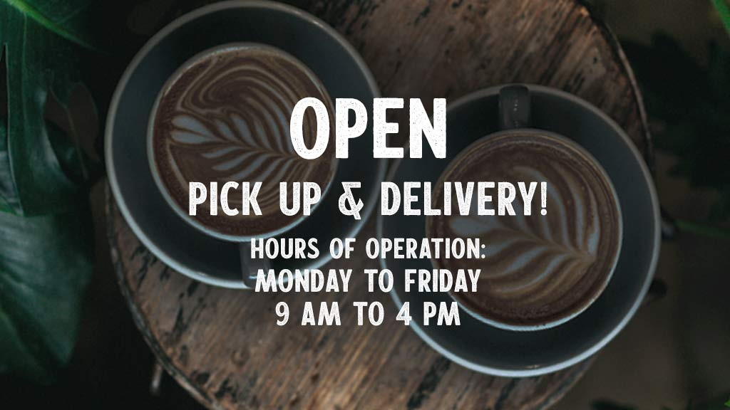 Masseria Caffé & Bakery is Open for Take Out and Delivery